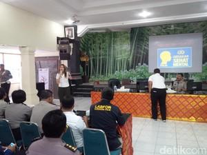 Sejumlah Polisi di Bali Alami Stres Cukup Tinggi