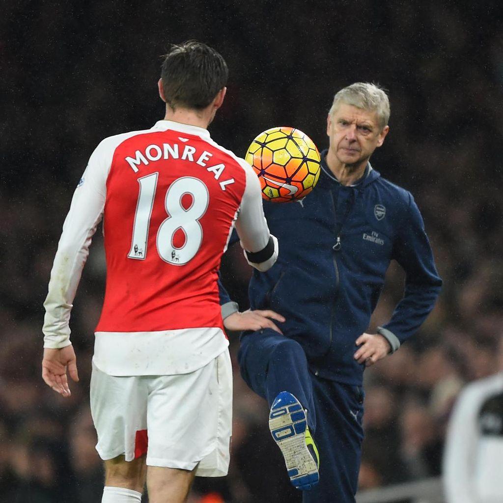 Monreal Tak Bisa Bayangkan Arsenal Tanpa Wenger