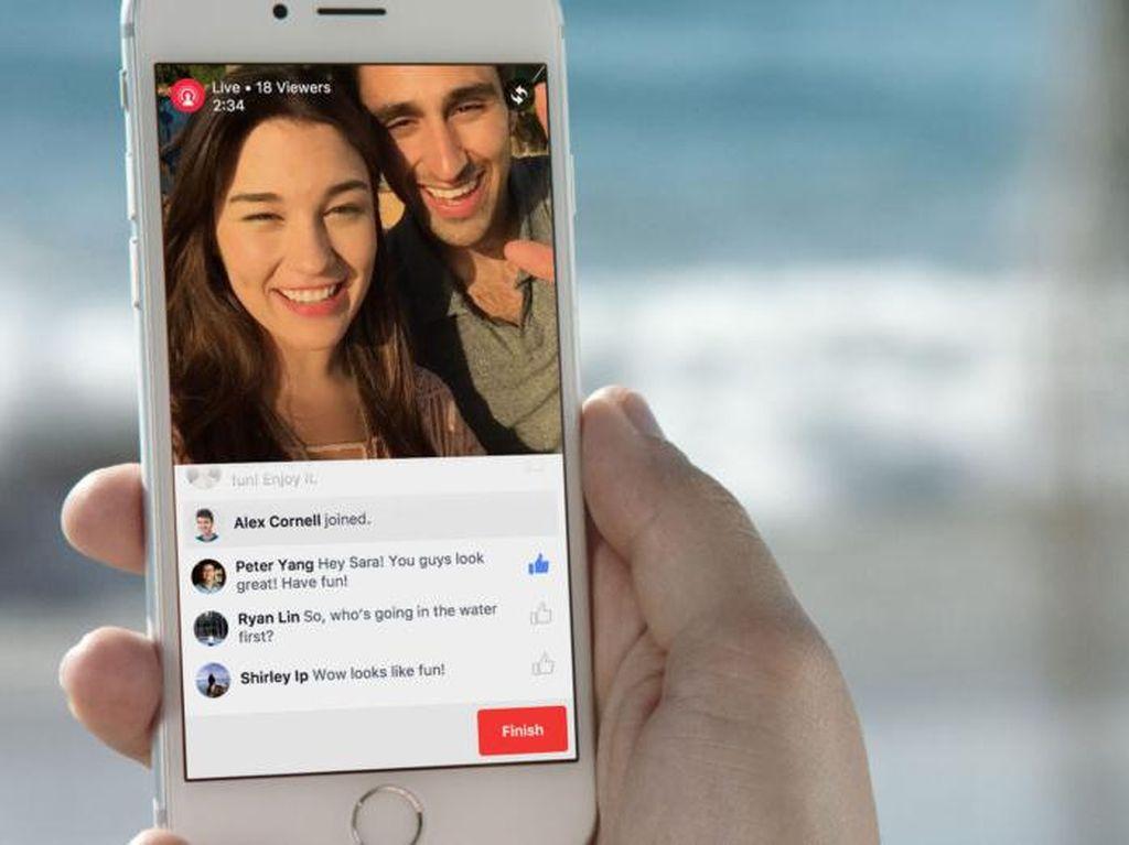 Suka Live di Facebook? Pakai Tips Ini agar Banyak Viewer