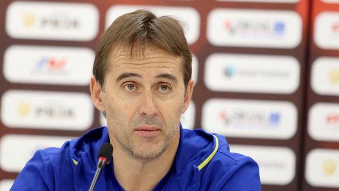 Julen Lopetegui ditunjuk menjadi pelatih baru Real Madrid musim depan. (Foto: AFP/GENT SHKULLAKU)