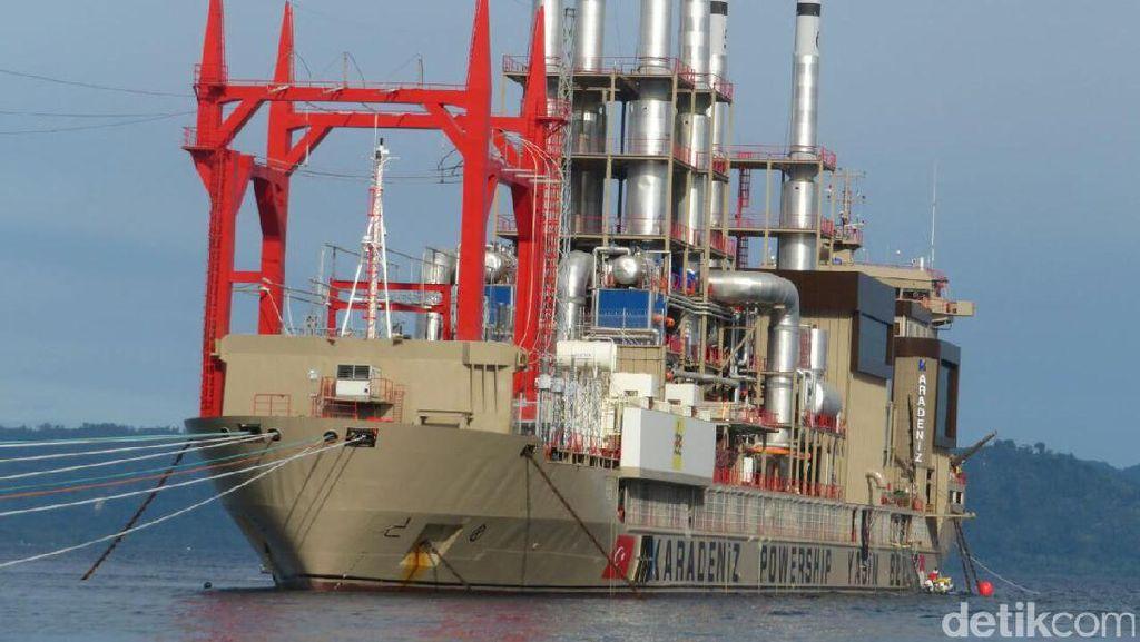 Kapal Genset Raksasa Ini Bakal Pasok Listrik untuk Ambon