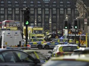 Teror di London, Jurnalis Ini Melihat Langsung Penusukan Polisi