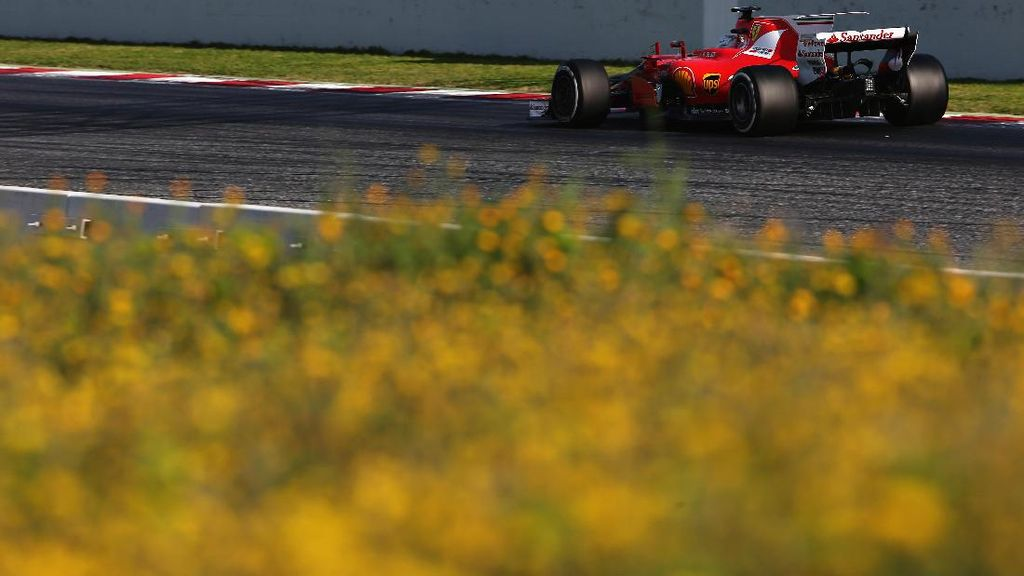 Ferrari Punya Kecepatan Bagus, Vettel Redam Ekspektasi di Melbourne