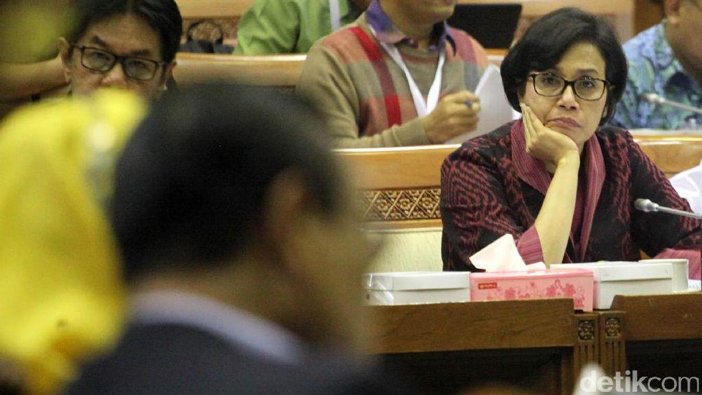 Sri Mulyani dan DPR Rapat Bahas Kinerja BUMN