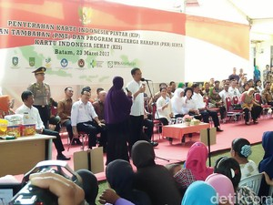 Ada Pulau Kalibata yang Bikin Jokowi Terpingkal di Kepri