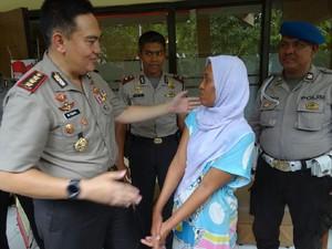 Wanita Diduga Penculik Anak Linglung Saat Dimintai Keterangan