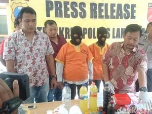 Polisi Lamongan Gerebek Pabrik Pembuat Jamu Ilegal