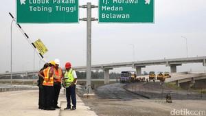42 Km Tol Medan-Tebing Tinggi Siap Dipakai Mudik
