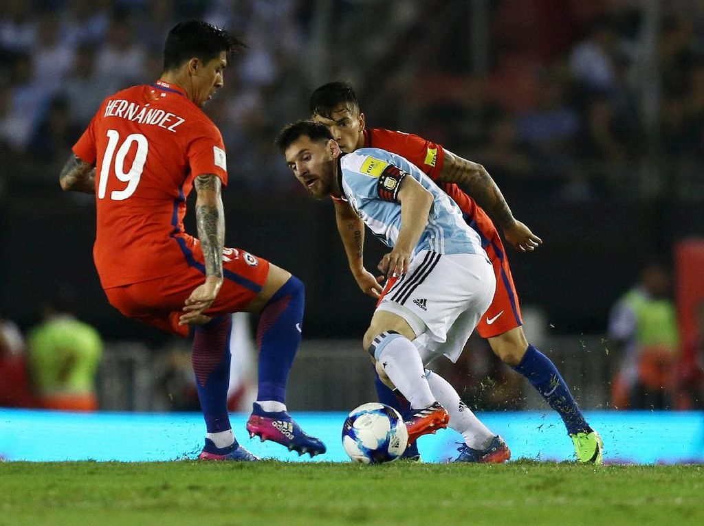 Head-to-Head Argentina Vs Chile: Tim Tango Masih Dominan