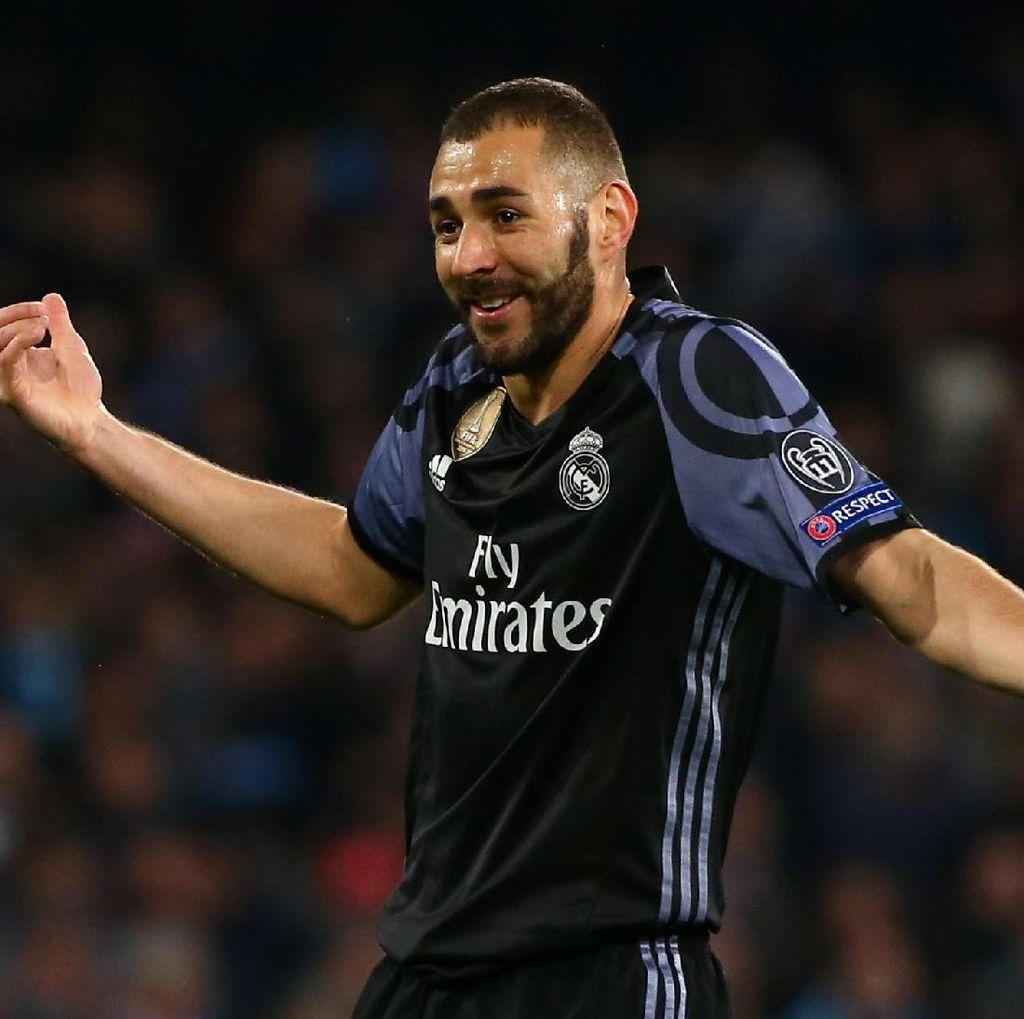 Madrid Tatap April yang Penting, Benzema Bertekad Jaga Performa