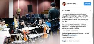 Kepiawaian Veronica Tan saat Bermain Cello Bersama Addie MS
