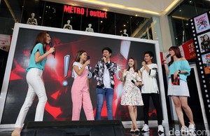 Seru-seruan di Acara Hangout With All Stars