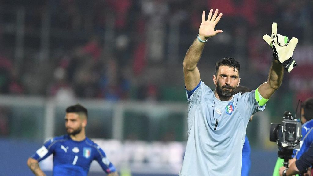 Gianluigi Buffon Sudah 1.000 Laga