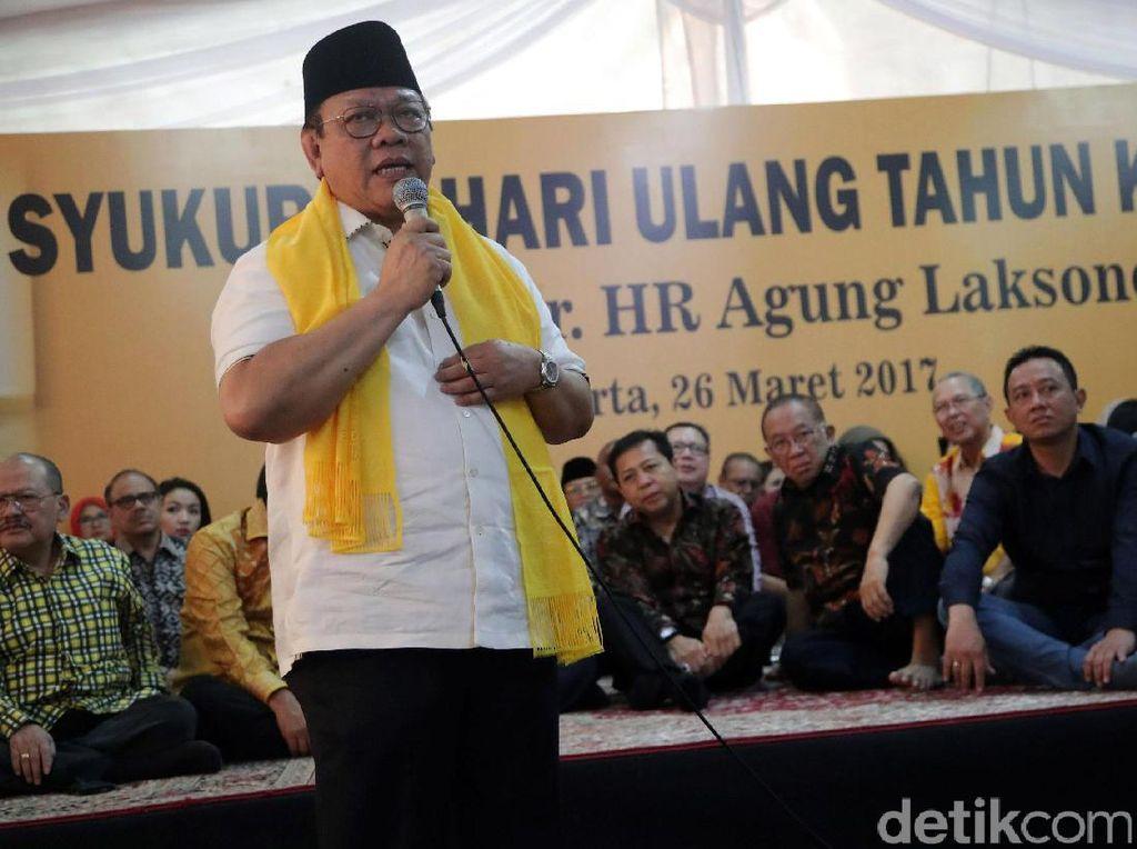 Novanto Menang Praperadilan, Agung Laksono: Kini Bisa Urus Partai