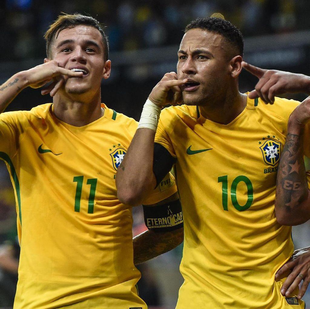 Pujian Coutinho untuk Neymar