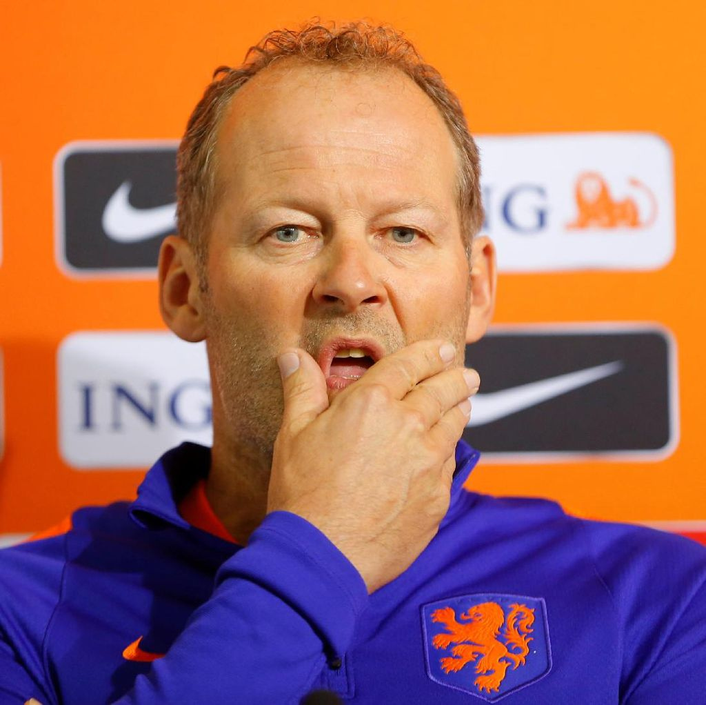 Belanda Kalah, Danny Blind Akan Pertimbangkan Masa Depannya