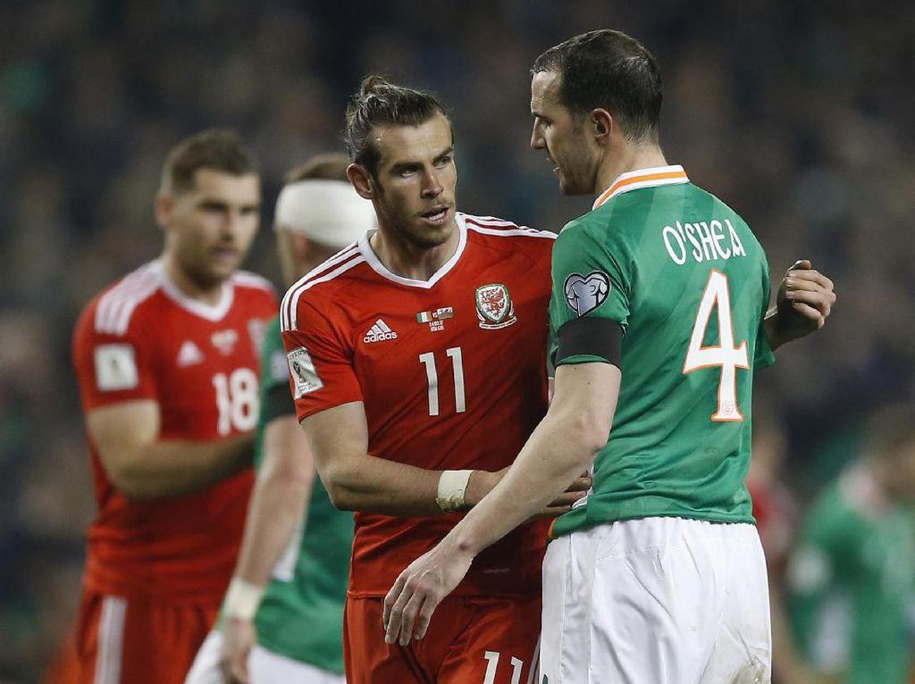 OShea Merasa Beruntung Tak Cedera Parah Usai Kena Tekel Bale
