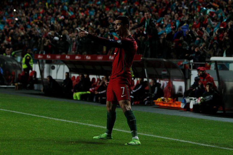 Cristiano Ronaldo Sudah Mencetak 70 Gol untuk Timnas Portugal