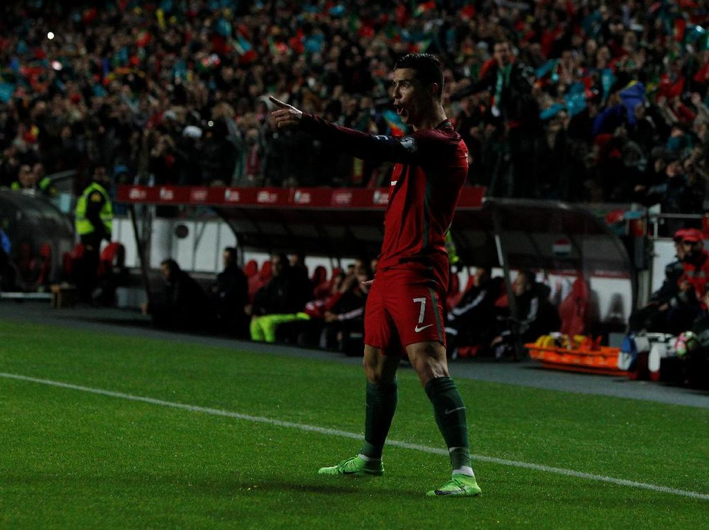 Ronaldo Sudah Cetak 70 Gol untuk Portugal