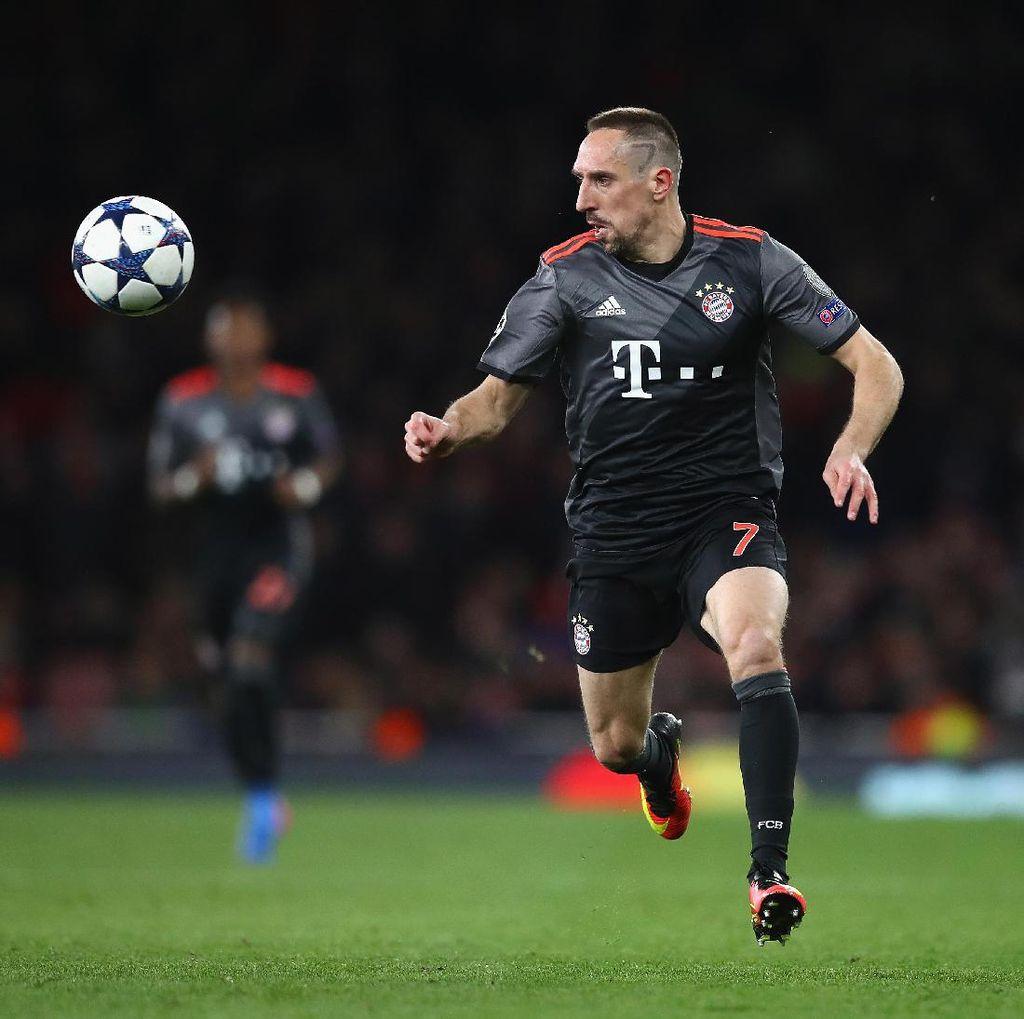 Ribery Buka Peluang Jadi Pelatih Usai Pensiun
