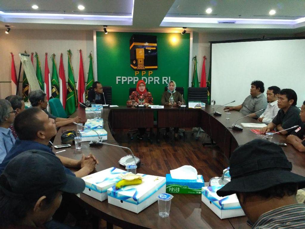 Fraksi PPP DPR Terima Masukan dari Pengemudi Transportasi Online