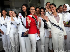 Finalis Puteri Indonesia 2017 Dapat Pembekalan dari KPK