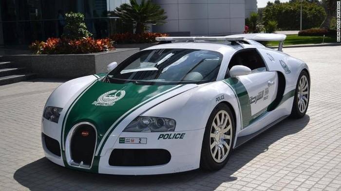 Ini Dia Mobil Polisi Tercepat di Dunia