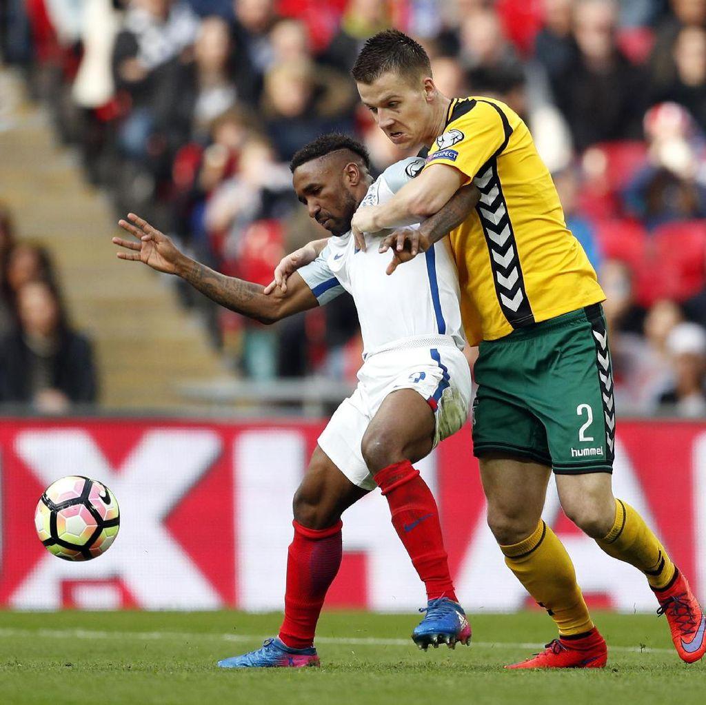 Inggris Atasi Lithuania 2-0