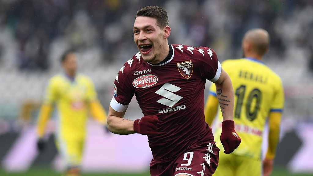 Torino Tak Akan Lepas Belotti ke Sesama Klub Italia