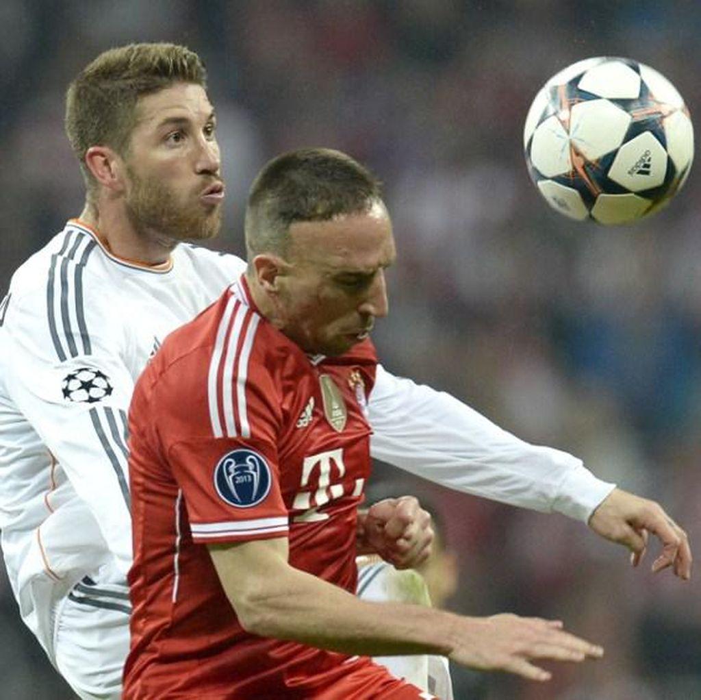 Bayern dan Madrid di Level yang Sama