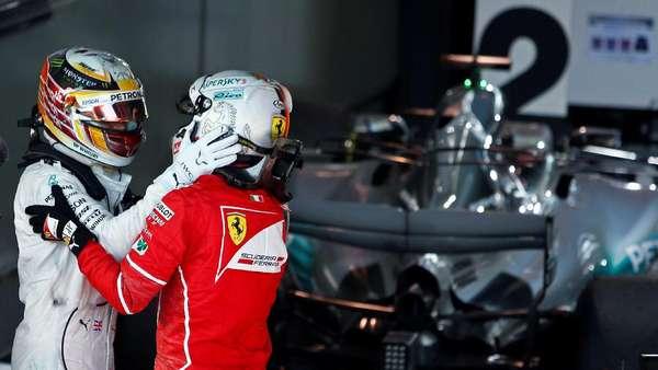 Setelah Australia, Vettel-Hamilton Nantikan Duel Sengit Lainnya