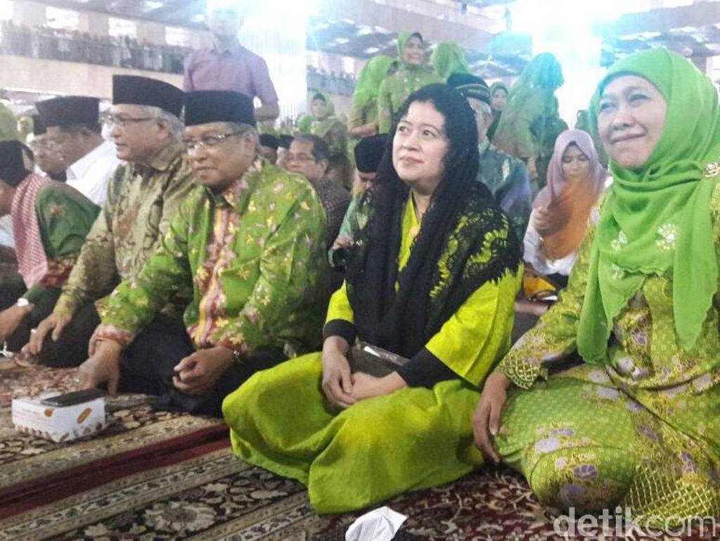 Istri Gus Dur hingga Menko Puan Hadiri 71 Tahun Muslimat NU