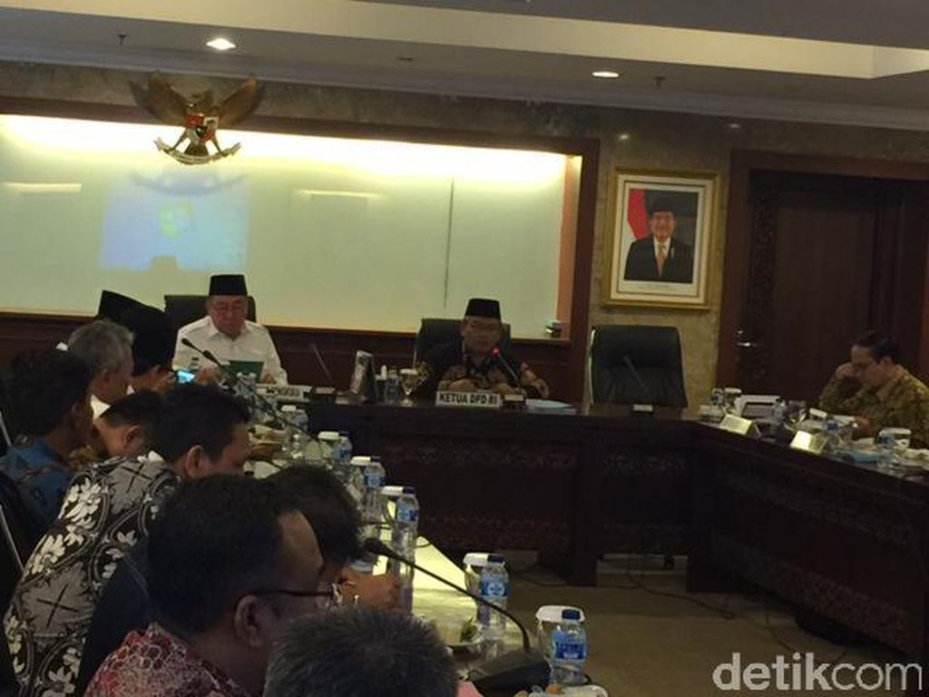 Ingin Warga Tak Terisolasi, Gubernur Bengkulu Mengadu ke DPD