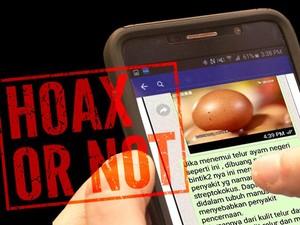 Broadcast Telur Berbintik Mengandung Bakteri Penyakit