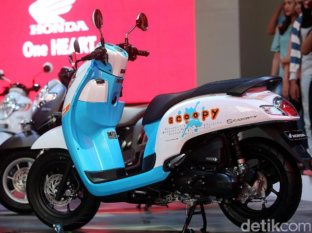 Penjualan Motor Honda di Jakarta Fair Naik 42 Persen