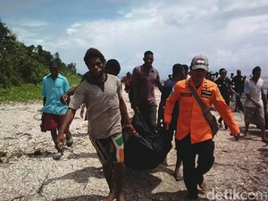 6 Korban Perahu Tenggelam di Pantai Kasuari Papua Ditemukan Tewas