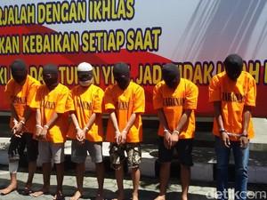 6 Mahasiswa Perampok Minimarket di Yogya Dibekuk, Satu Didor