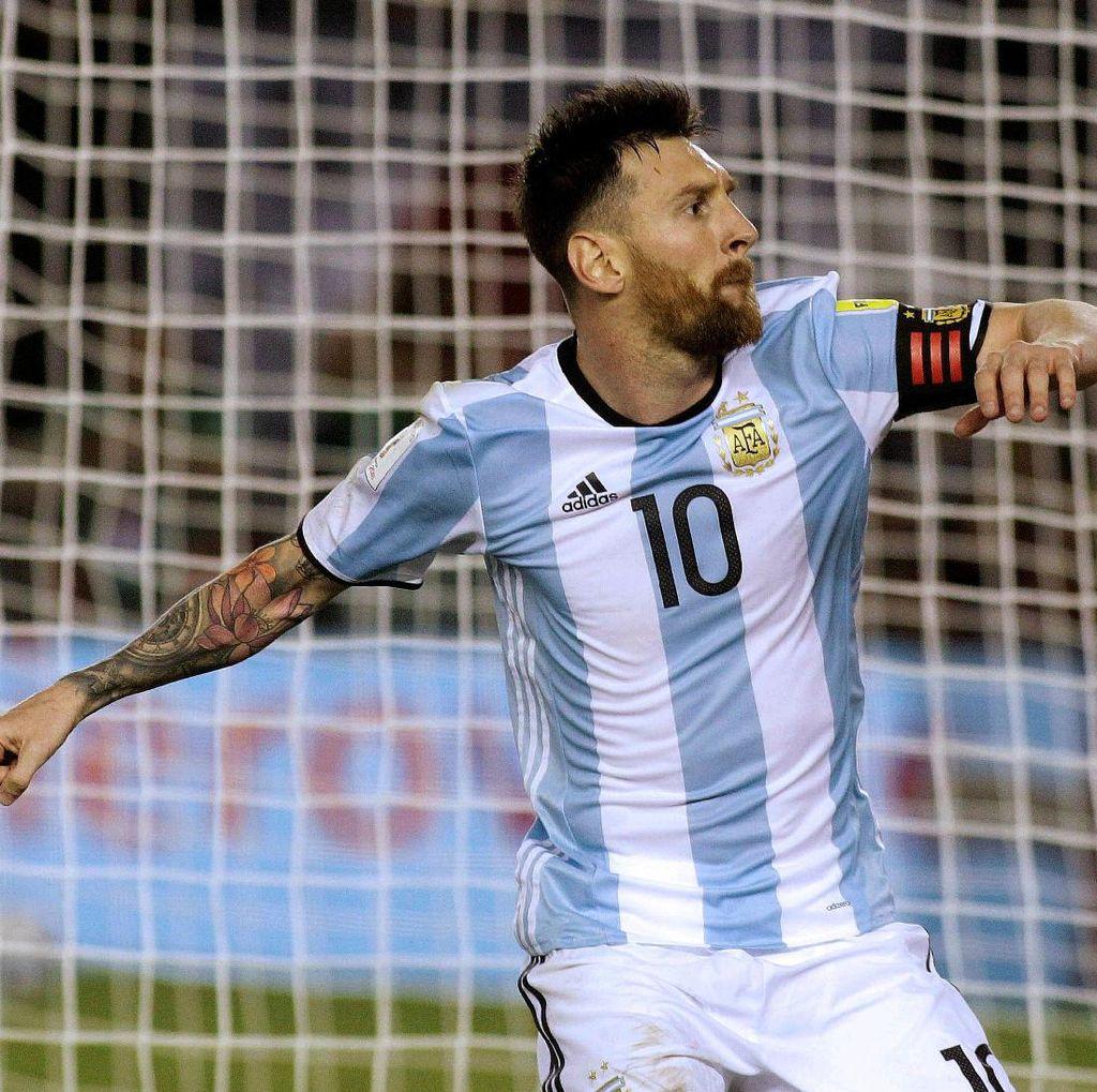 Tanpa Messi, Peluang Argentina Lolos ke Piala Dunia 2018 Terancam