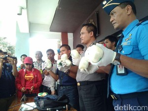 Selundupkan Sabu di Selangkangan, 7 Kurir Ditangkap di Cengkareng