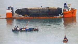 Temuan Tulang Korban Ditemukan dari Puing Kapal Sewol
