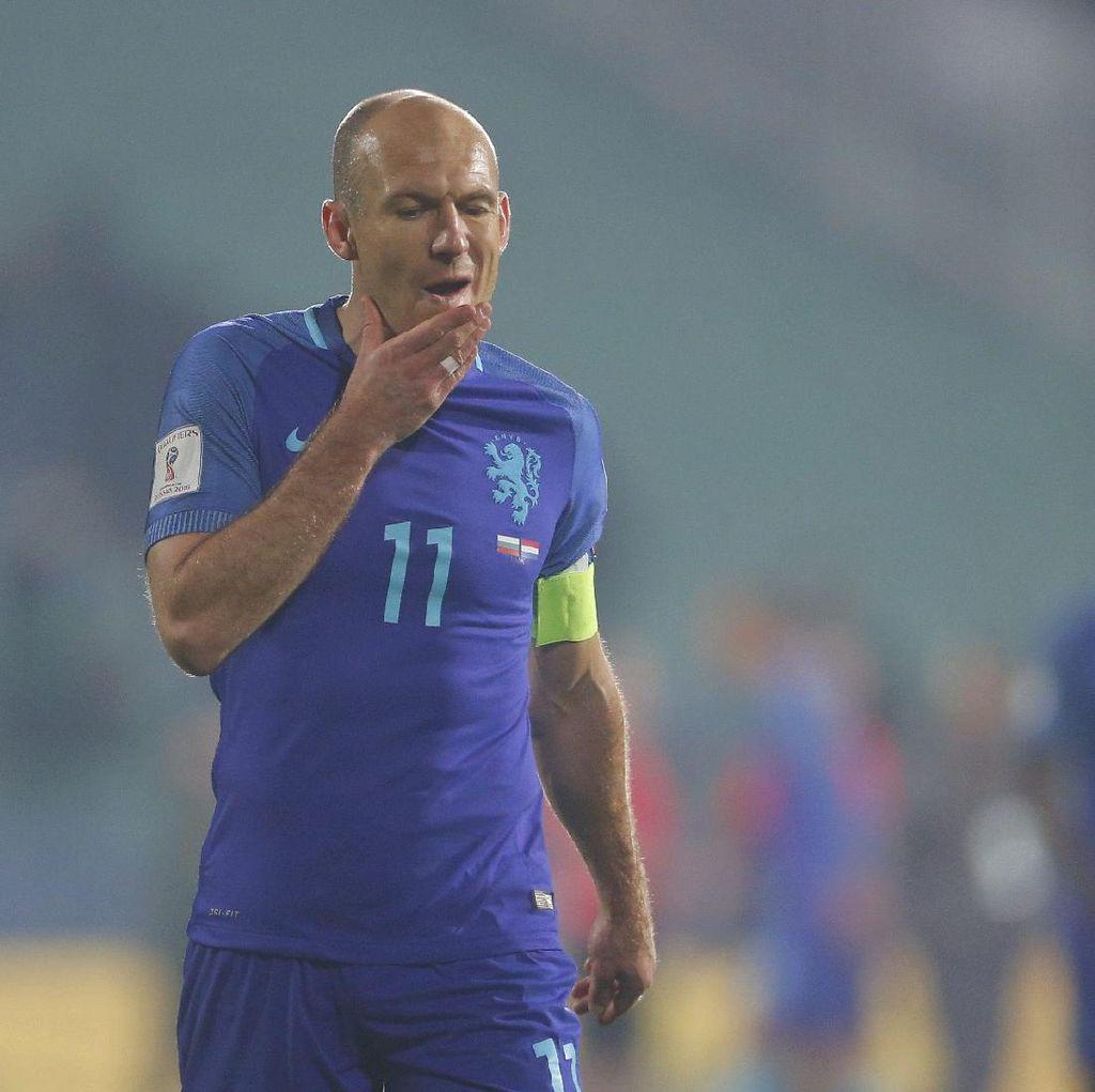 Robben dan Sneijder Ingin Dilibatkan dalam Pemilihan Pelatih Baru Belanda