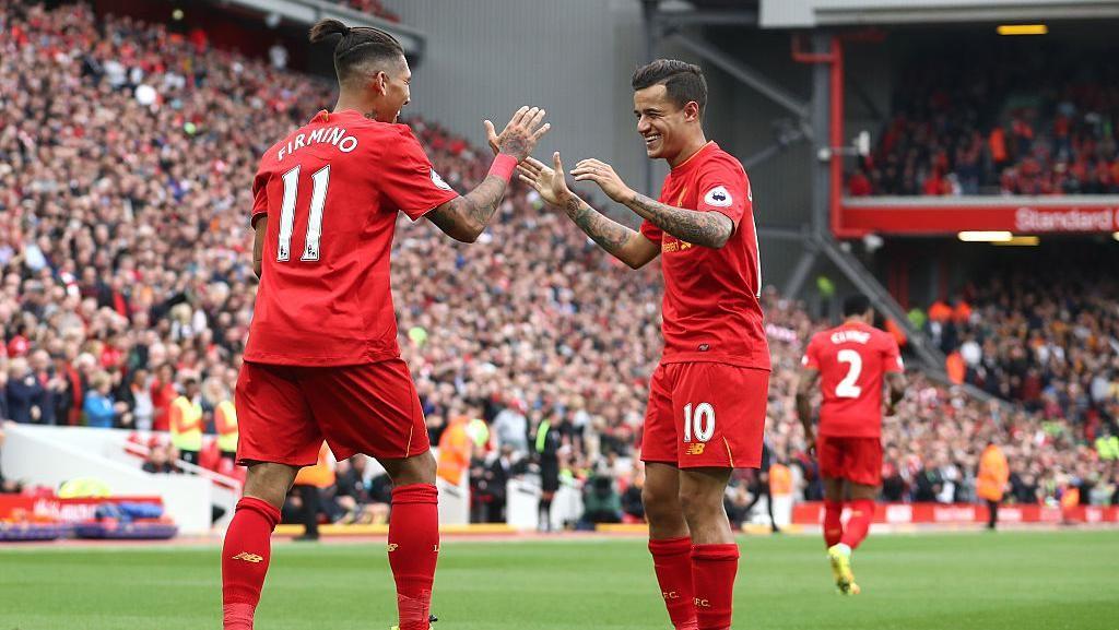 Liverpool Sewa Jet Pribadi buat Coutinho dan Firmino