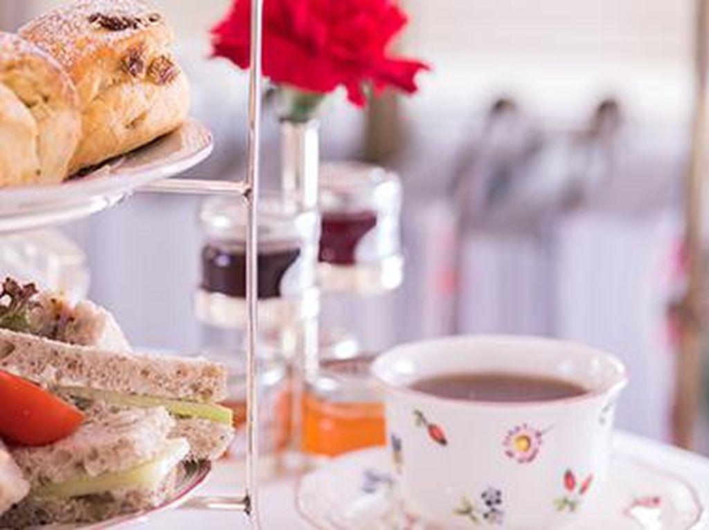 Di Kafe Ini, Vegan Bisa dengan Puas Menikmati Sajian Afternoon Tea Lengkap