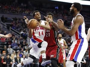 Heat Kian Dekat dengan <i>Playoff</i> Usai Kalahkan Pistons