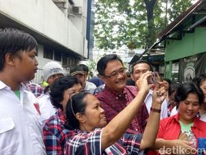Djarot Minta Rumah Rusak di Kampung Melayu Didata untuk Dibedah