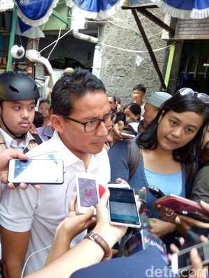 Sandiaga: OK OCE Terinspirasi Jepang dan Thailand, Bukan Proposal