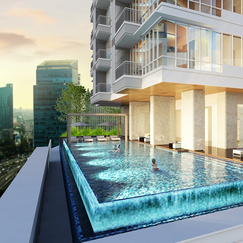 Apartemen di Patra Kuningan Rp 1 Miliaran