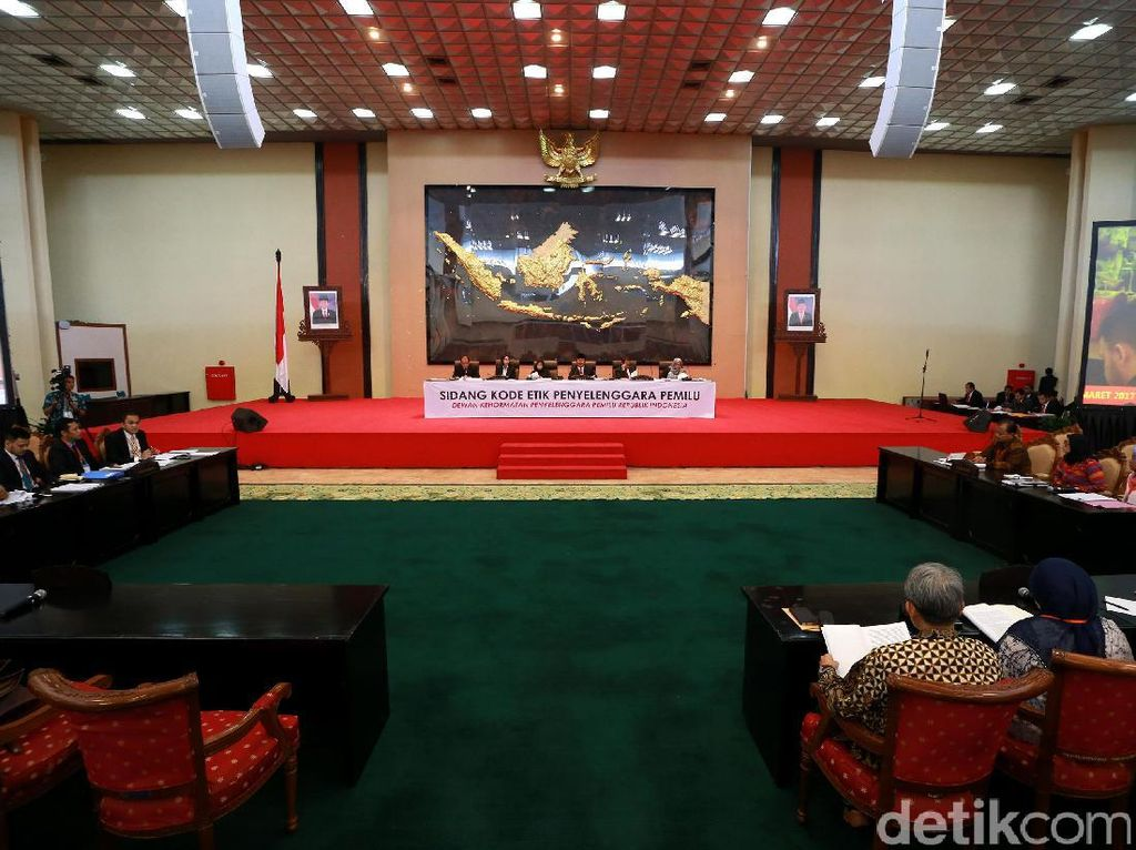DKPP Gelar Sidang Etik Lanjutan Anggota KPU-Bawaslu