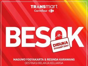 Transmart Carrefour Maguwo Yogyakarta Dibuka Besok