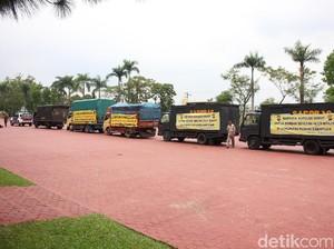 Polda Sumut Kirim Mi hingga Sarung ke Korban Banjir Padangsidimpuan